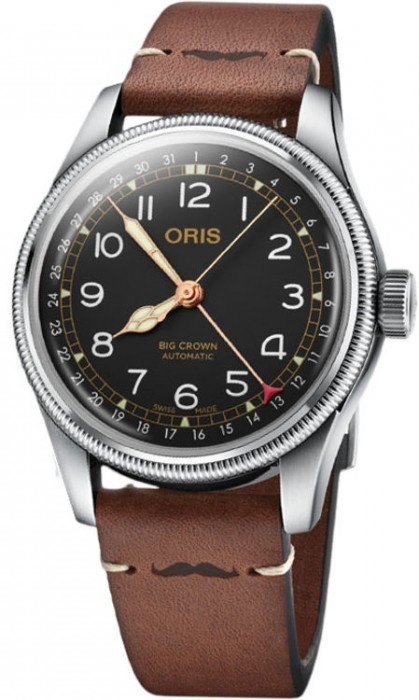 Oris Pointer Date Movember Edition