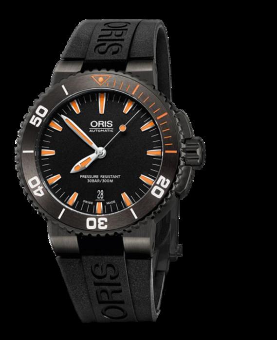 Oris Aquis Date Black