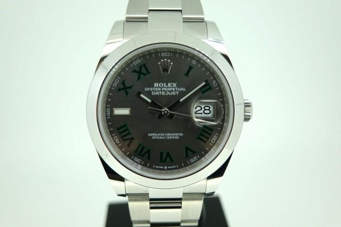 Rolex Datejust 41mm Wimbledon dial