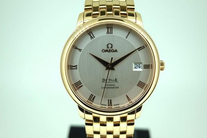 Omega De Ville Prestige 18ct Red Gold