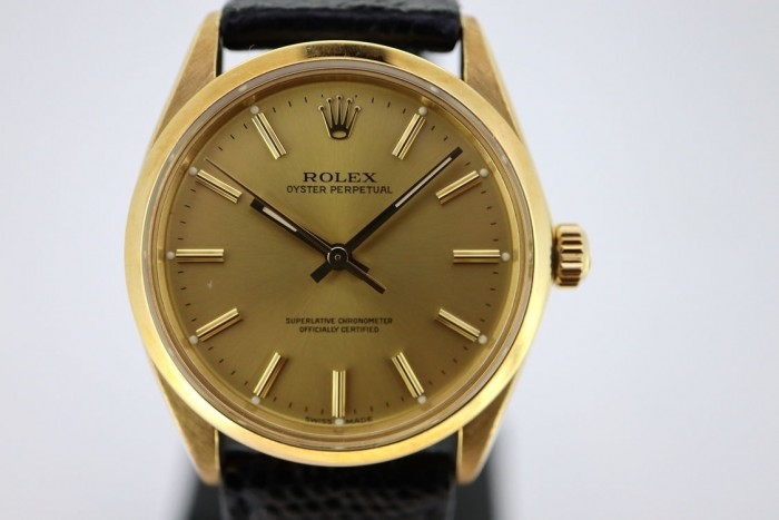 Rolex Oyster Perpetual 18ct