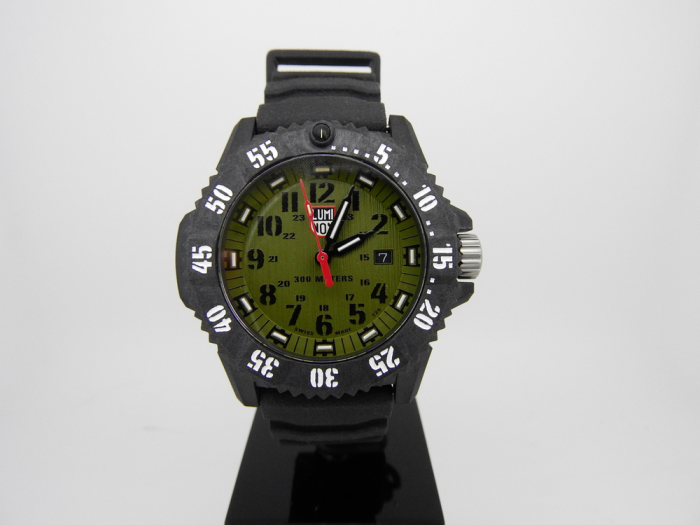 Luminox Carbon Seal Green/Black Dial A3813