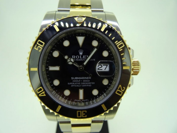 Rolex Submariner Date Ceramic Two Tone