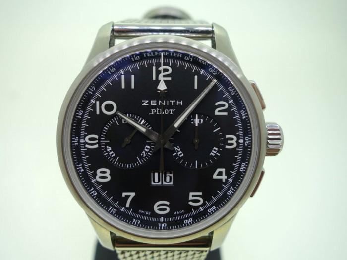 Zenith El Primero Big Date Pilot Chronograph