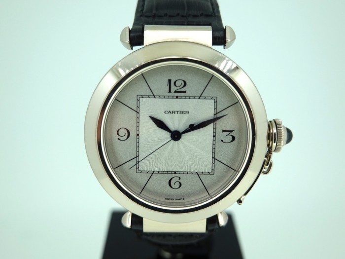 Cartier Pasha 18ct white gold