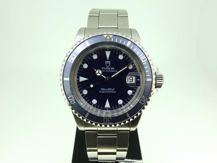 Tudor Submariner blue 79090