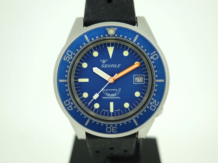1521 Squale Blue Blasted