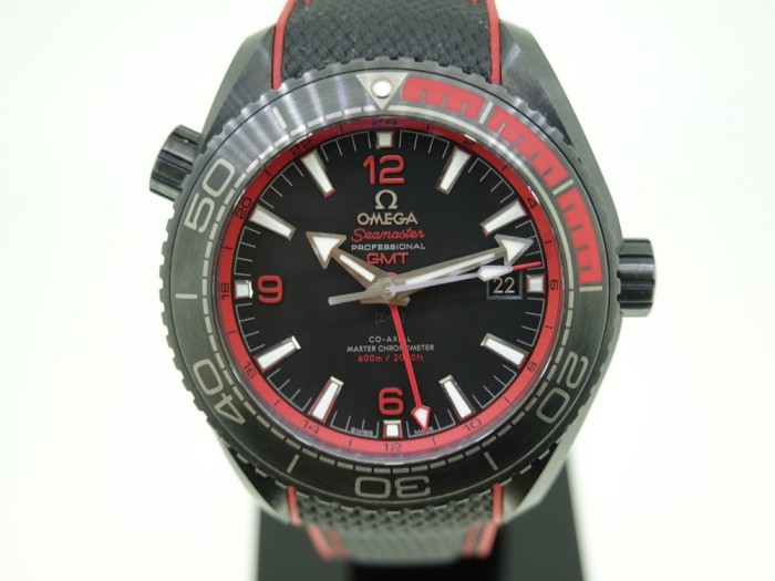 Omega Planet Ocean Black ceramic GMT