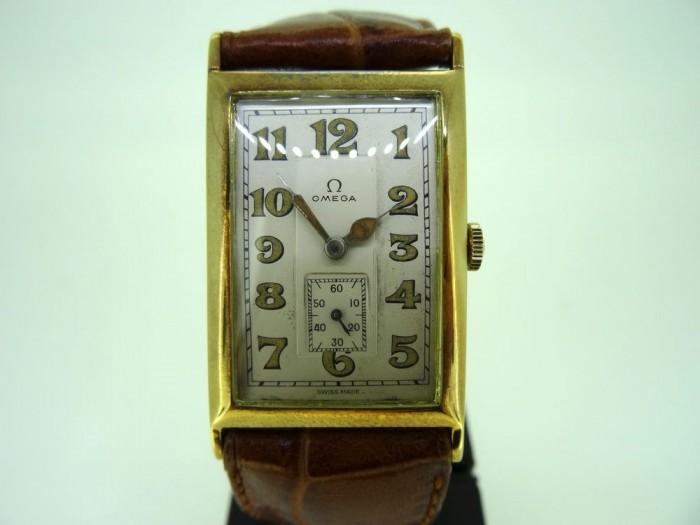 Omega Rectangular oversize Dress Watch
