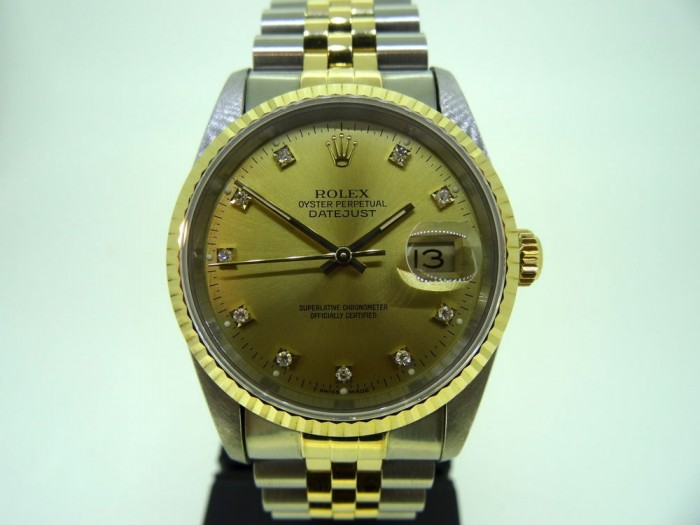 Rolex Datejust Two Tone 36mm