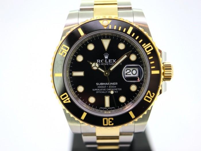 Rolex Submariner Date Ceramic Two Tone