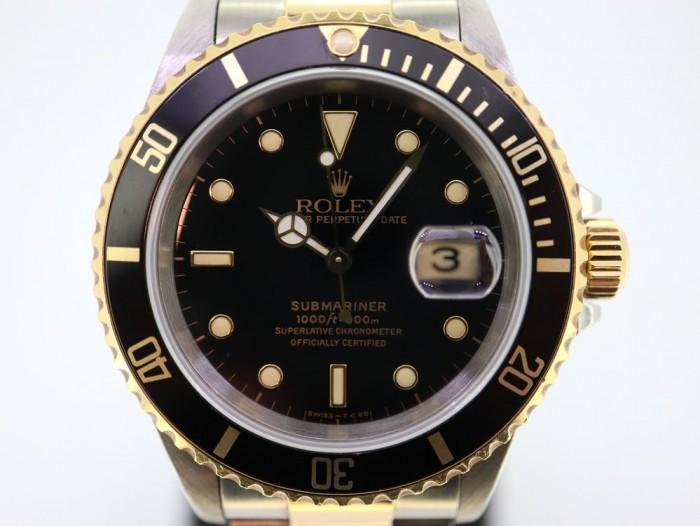 Rolex Submariner Date Two Tone