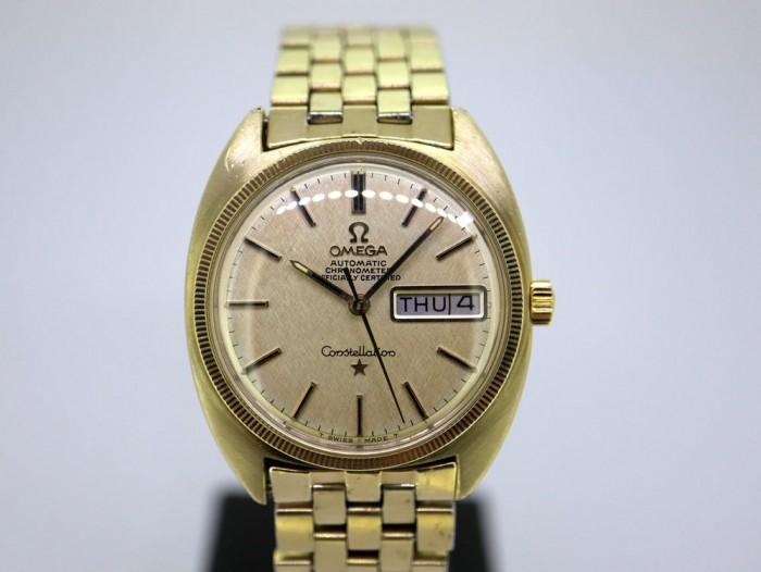 Omega Constellation Chronometer Gold Cap