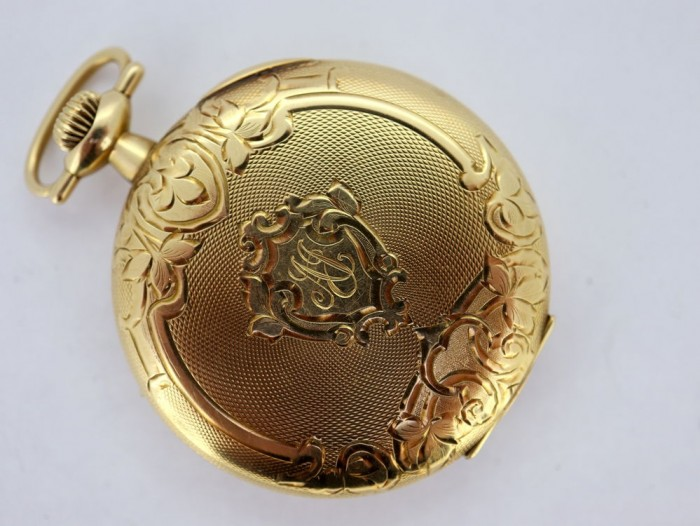 Hampden 14ct Pocket Watch 44mm
