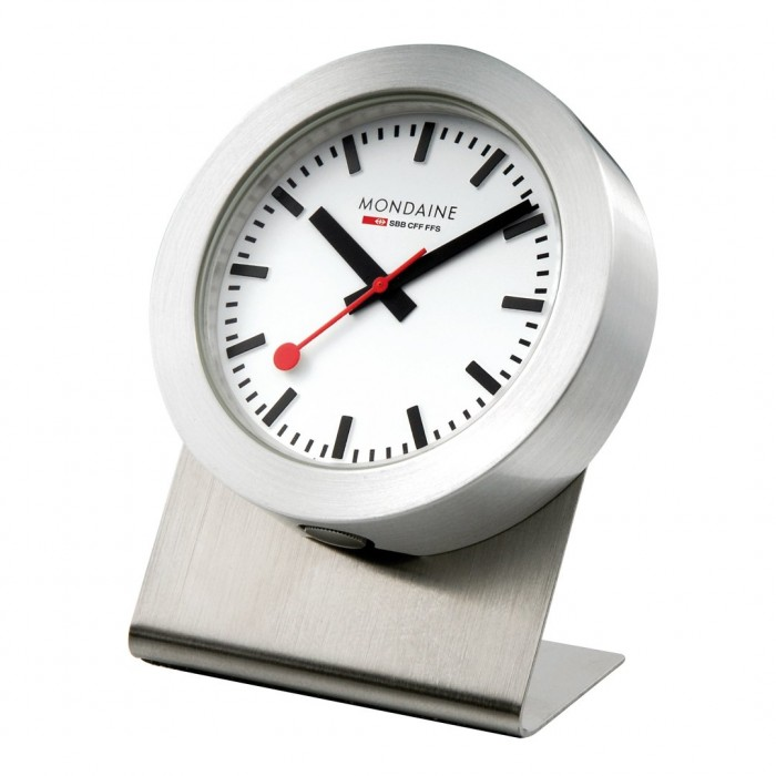 Mondaine Magnetic desk or wall clock 50mm