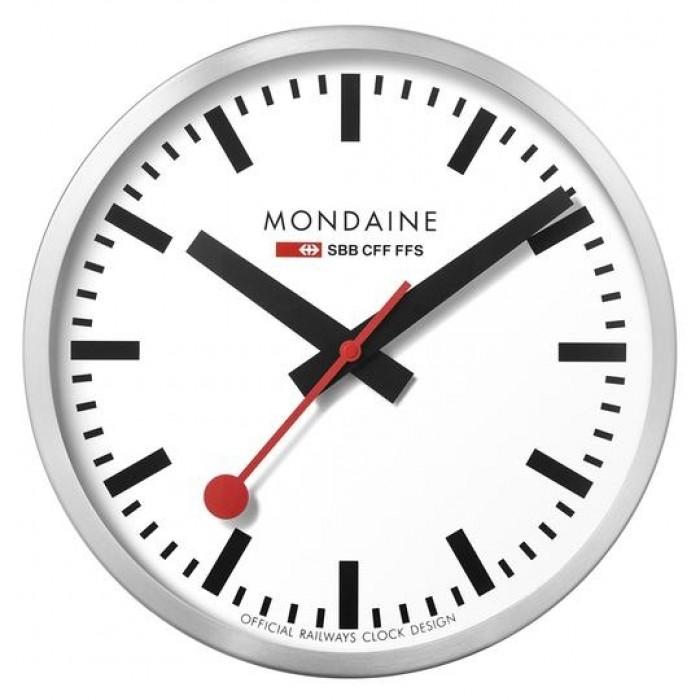 Mondaine Wall Clock White dial 25cm