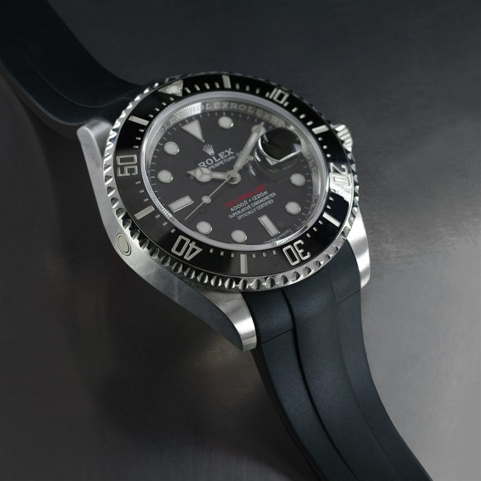 Rubber B strap for Sea-Dweller 43mm