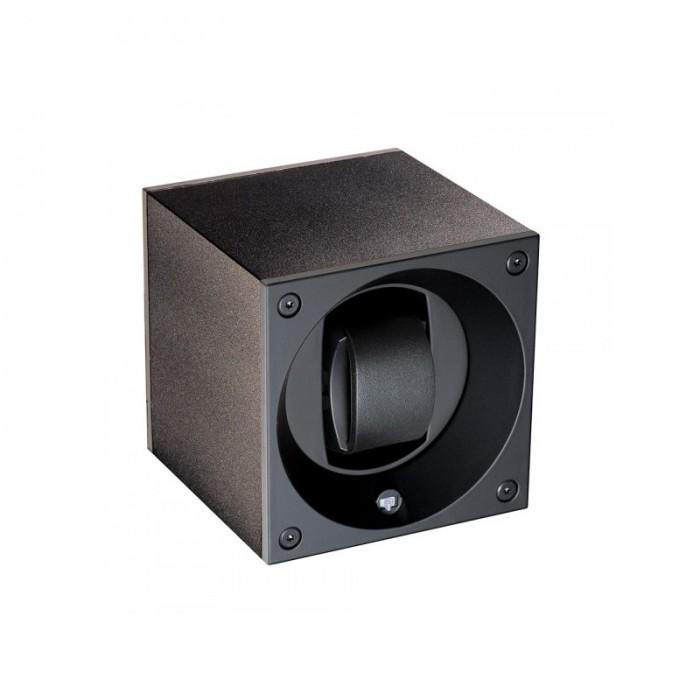 SWISSKUBIK MASTER BOX SINGLE ANODIZED BLACK