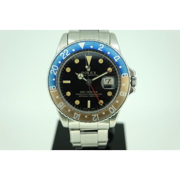 Rolex 1675 GMT pepsi gilt