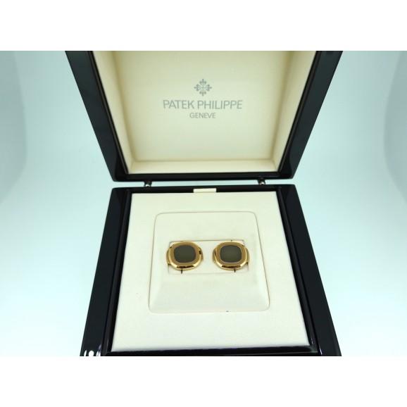 Patek Philippe Nautilus Gold cufflinks