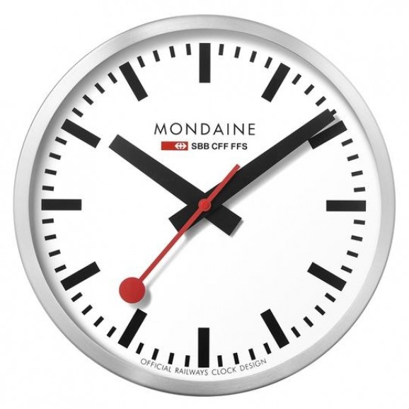 Mondaine Wall Clock White dial 25cm